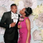 celebrity photo booth at wedding in Four Seasons Brickell