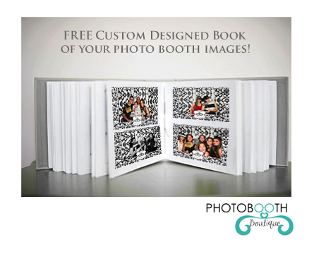 FEBRUARY PHOTO BOOTH RENTAL SPECIAL: FREE BOOK