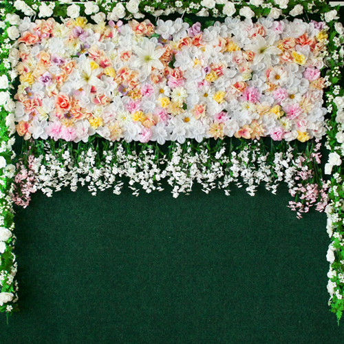PREMIUM FLOWER WALL PHOTO BOOTH BACKDROPS