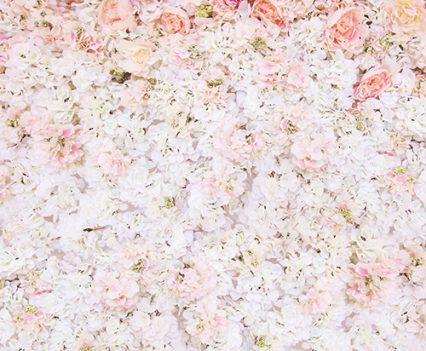 Flower Photo Booth Backdrop