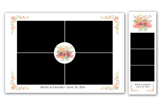 NEW CHIC PHOTO BOOTH PRINT DESIGNS