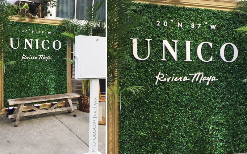 Unico hotels corporate photo booth