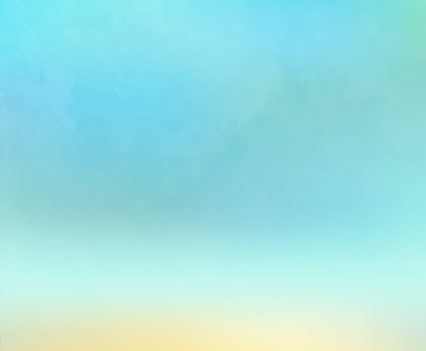 Blue Watercolor Photo Booth Backdrop