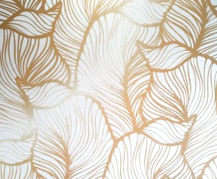 Golden Leaves Photo Booth Backdrop