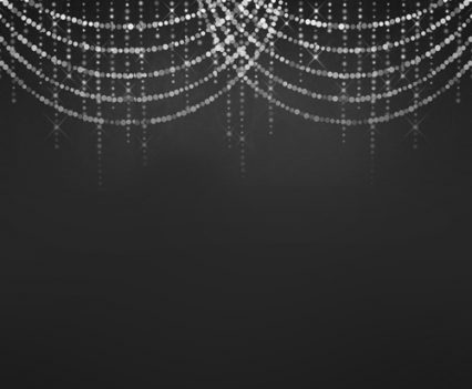 Twinkle Lights Photo Booth Backdrop