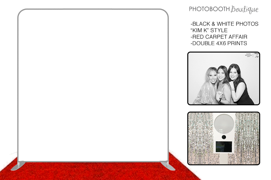 Black & White Photo Booth Package