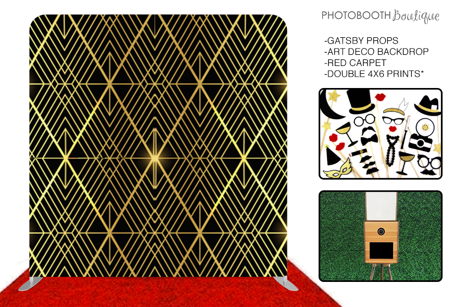 Roaring 20s Gatsby Photo Booth Package