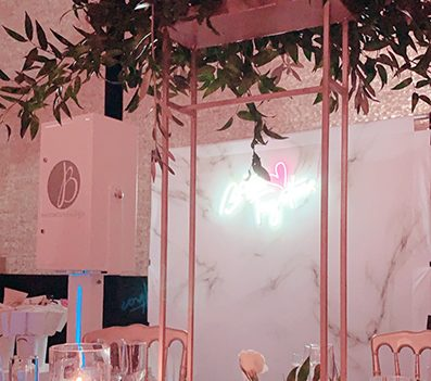 Luxury Wedding Photo Booth in Miami